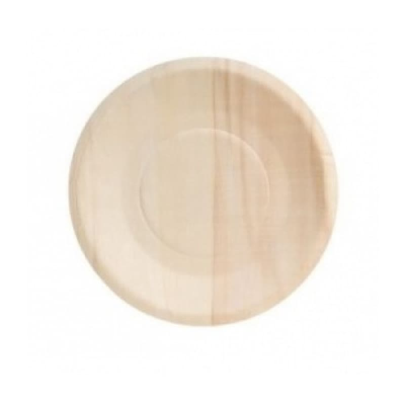 7in Wooden Plate